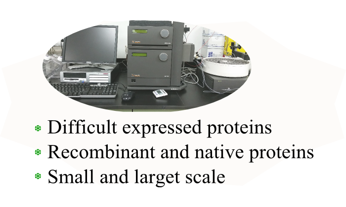 Services :: Protein Expression and Purification Service
